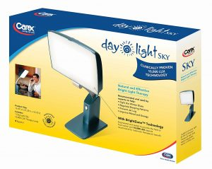 Carex Health Brands Day-Light Sky box