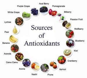 Source of anti-oxidants