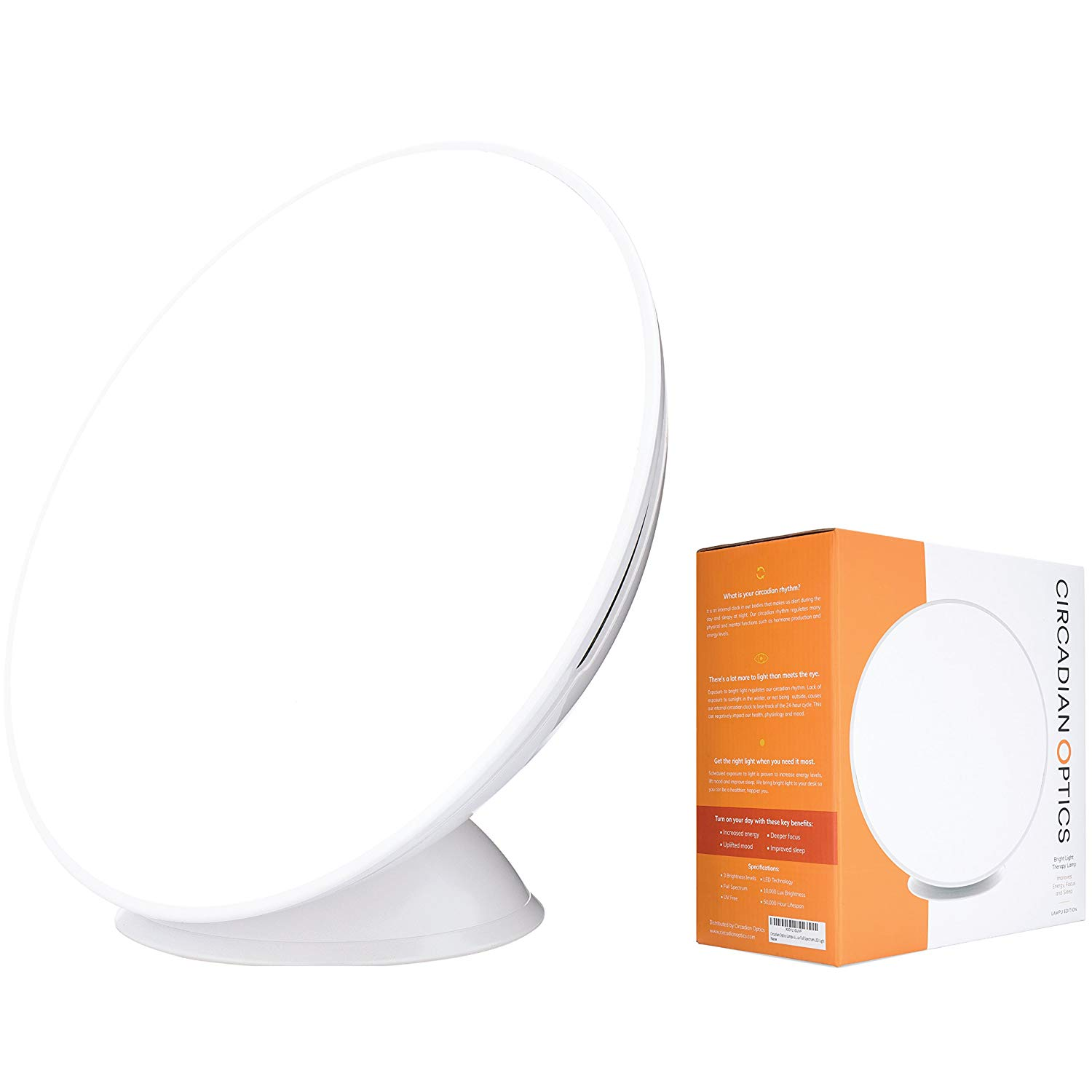 Circadian optics Lampu with box