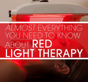 Almost everything you need to know about red light therapy