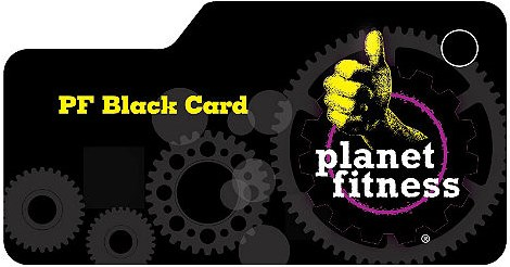 Planet fitness black card